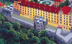 Visualisierung Hotelerweiterung Schloss Sonnenstein