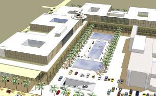 Visualisierung Iranian Hospital Dubai | MARKUS EHRMANN | Dipl.-Ing. (FH) | Architekturleistungen und Visualisierung |