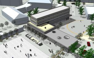 Begrenzter Entwurfswettbewerb: Verwaltungsgebäude in Heidenau